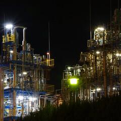 工場夜景/夜景/夜/JAPAN/わたしのお気に入り 広島、大竹の工場夜景 #わたしのお気に入り