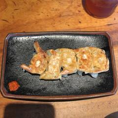 みんなにおすすめ 博多一風堂の餃子です。一口サイズで食べや…