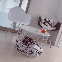 IKEA/クッション/ルイボスティー/モノトーンインテリア好き/掃除/片付け/... 片付けの後はゆっくりルイボスティータイム!