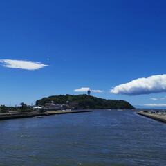 シーキャンドル/海が見える/江の島 江の島に行って来ました🏖️良い天気でした😊