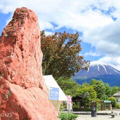 カメラ好き/カメラ女子/梅雨の中休み/鳴沢/なるさわ富士山博物館/富士山/... 道の駅 なるさわ 梅雨の中休みに出かけて…