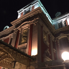 川沿いの遊歩道/中之島中央公会堂/散歩/ウォーキング 昨夜の夜散歩🌙 公会堂周辺を歩くのは気持…