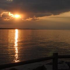 夕日/海/夕方/三重/季節/夏/... 夕日が沈む海 #令和元年フォト投稿キャン…