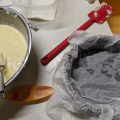 バスクチーズケーキ バスクチーズケーキ作りました。 うまく焼…(3枚目)