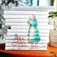 ブックカバー/bookcover/coverstory/本棚/漫画/マンガ/... 梅雨シーズンに合わせて。かわいらしいイラ…(1枚目)