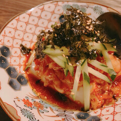 簡単おつまみ/簡単レシピ/韓国/冷奴 お気に入りの『韓国風冷奴』。 普通の絹ご…