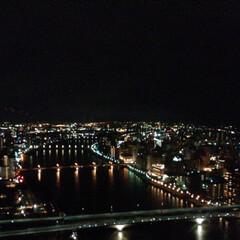 夜景/展望台/新潟市/朱鷺メッセ/はじめてフォト投稿 新潟市にある朱鷺メッセの展望台からの夜景…