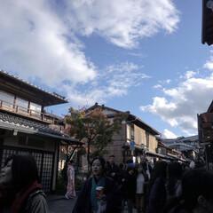 ミラーレス一眼/カメラ女子/旅行/京都/おでかけワンショット 京都で撮った1枚。 影を主とすることで、…