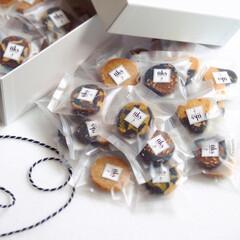 焼き菓子/個包装/おやつ/クッキー/アーモンド/キャロブ/... . .  Cookie box🍪  . …