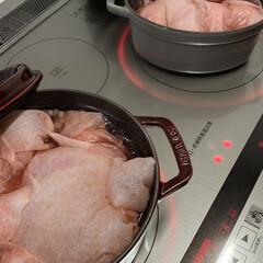 ストウブ鍋 オーブン煮で無花果のコンポート(3枚目)