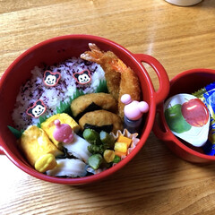 おさかなチップ/お弁当/100均 おはようございます☀ 今朝は8ヶ月ぶりに…(1枚目)