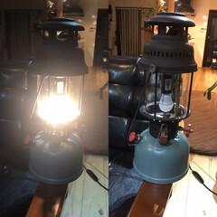 アウトドアリビング/トースター掃除/DIY ランタンリメイク led化