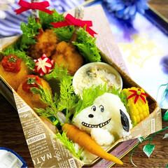 お弁当作り楽しもう部/お昼が楽しみになるお弁当/スヌーピー弁当/キャラ弁/娘弁当/ランチ/... . ✧*̣̩⋆̩ᵍᵒᵒᵈ ᵐᵒʳᐢⁱᐢᵍ…