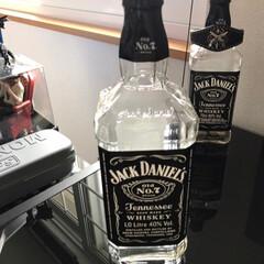 ジャックダニエル ブラック Old No.7 3000ml 40% 箱入り 1ケース6本入り 正規(バーボン、アメリカン)を使ったクチコミ「ボトルライト作りました! ものが揃えば1…」(2枚目)