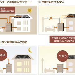 住まい/住宅設備/太陽光発電/電気自動車/節電/V2H/...