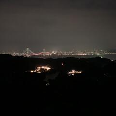 日本 夜景/淡路島 デート/淡路 夜景/淡路島 夜景/淡路島 おでかけ/夜景 おすすめ/... お疲れ様おめでとうの輝く光 壁も障害も乗…