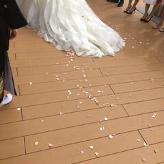 結婚式/至福のひととき 大切な友人の結婚式♡