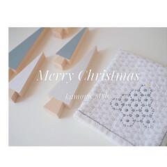 クリスマス2019/ハンドメイド . Merry Christmas⭐︎ …(1枚目)