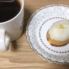 おうちカフェ レモンケーキ! コーヒーとともに。  も…