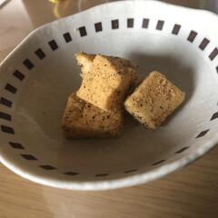 娘スイーツ/ちょこっとバッグ/1日1個ハンドメイドチャレンジ 娘が作ってくれたわらび餅風スイーツ❣️ …