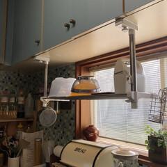 生活の知恵/収納/ニトリ/簡単/便利グッズ/家事アイデア/... ニトリにて吊り戸棚を購入しました 置き場…