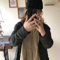 完成/ニット帽/編み物/次のコンテストはコレだ!/ハンドメイド/ファッション/... お久しぶりの投稿です ちょっと前から少し…