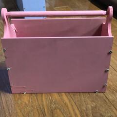 DIY/暮らし/家事/道具箱/整理整頓/作り置きおかず作り/... ようやく完成! 私専用の道具箱🧰🧰🧰 入…