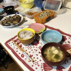 キッチン/リベンジあるのみ/失敗した/パン作り/何もしてない/昼寝/... 今日の夕飯です(ネタがない💦) メイン(…