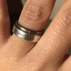 旦那さんに感謝/ありがとう/一生外しません/ペアリング/婚約指輪/結婚指輪/... 宝物💓💓💓 婚約指輪と結婚指輪 婚約指輪…