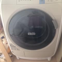 原因発覚/ファスナーのゴミ詰まり/洗えるスリッパ愛用/DAISO/スリッパ洗う/モップかけ/... うおー 洗濯機から水が漏れて水浸しに(泣…
