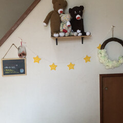 我が家の暮らし/フラワーアレンジメント教室/玄関/スクラッチアート/赤ずきんちゃん/看板/... 我が家の玄関 ほぼ100均です笑笑 1枚…(5枚目)