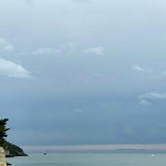 空/風景/おでかけ/海/ドライブ 先日ドライブしたときの海🌊 グラデーショ…(2枚目)