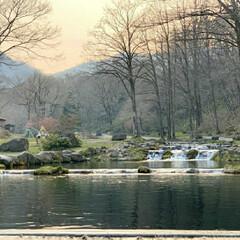 渓流つり/炭火焼き/夕日/ニジマス/自然/釣り/... 久しぶりに渓流つりへ。 大物は逃がしちゃ…