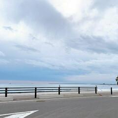 空/風景/おでかけ/海/ドライブ 先日ドライブしたときの海🌊 グラデーショ…(1枚目)