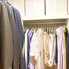 衣替え/衣類収納/クローゼット/クローゼット収納/収納/暮らし 半袖の季節になりましたね! クローゼット…