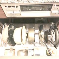 マイヤー/コンロ下/鍋/フライパン収納/キッチン 我が家のキッチン♪  コンロ下の収納です…