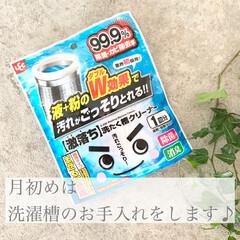 激落ち 洗たく槽クリーナー / レック | レック(液体洗剤)を使ったクチコミ「毎月、月初めには洗濯槽のお手入れをしてい…」