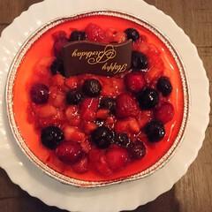 息子/誕生日/おうち 息子の誕生日にいただきました。  美味し…