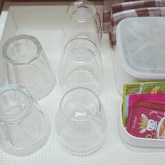 グラス/キッチン/デュラレックス/ボダム/整理/片付け/... 我が家のグラスはデュラレックスとボダムの…