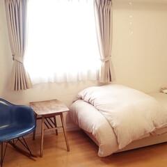 在宅ワーク/ワークスペース/整理/収納/片付け 夫婦で在宅ワーク中。 夫は自分の部屋で作…