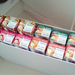 備蓄/災害/無印良品/ファイルボックス/キッチン 災害時は野菜の摂取が減りビタミン不足にな…