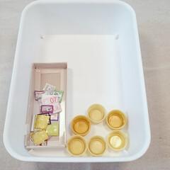 ベルマーク/ペットボトルキャップ/片付け/整理/収納 子どもの学校で回収するベルマークとペット…