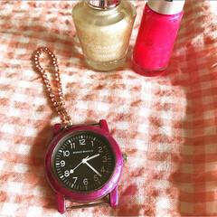 リメイク/女の子ママ/娘/フォロー大歓迎/雑貨/LIMIA手作りし隊/... ダイソーの腕時計を娘用に可愛くリメイク🎀…