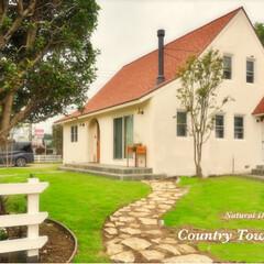 注文住宅/カントリータウン/家を建てる/ナチュラル/デザイン住宅/輸入住宅/... カントリータウンです! 可愛いさ抜群の家…