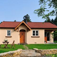 住まい/暮らし/可愛い家/輸入住宅/デザイン住宅/ナチュラル/... 素敵!ほんとうに可愛い家。平屋モデルハウ…(1枚目)