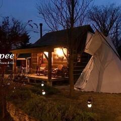 木の家/かっこいい家/注文住宅/小屋/キット/カントリータウン/... 冬でも楽しめるTipiのある庭。 そして…