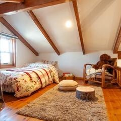 住まい/暮らし/かわいい家/輸入住宅/ナチュラル/デザイン住宅/... 素敵!ほんとうに可愛い家。平屋モデルハウ…(1枚目)
