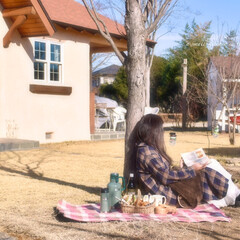 ピクニック/デザイン住宅/木の家/注文住宅/輸入住宅/素敵な暮らし/... お庭でピクニックなんて素敵!  http…