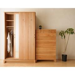 衣類収納/クローゼット/箪笥/タンス/チェスト/ワードローブ/... すっきり収納