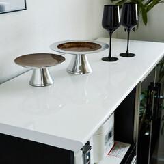 メラミン天板/キッチン/お手入れラク/大川家具/クラシオ 耐熱メラミン天板
